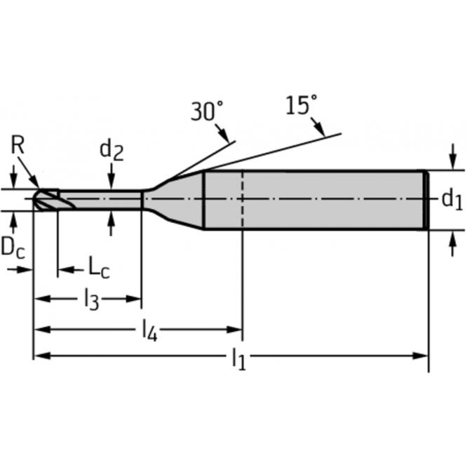 Freze de copiere din carbură metalică MC480-00.4A2MC-WB10TG