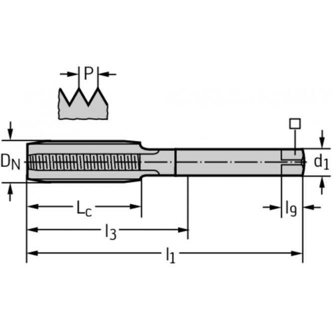 Set de tarozi manuali din HSS 30060-M10