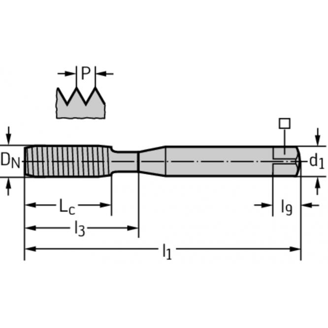 Tarozi de deformare din HSS-E-PM pentru maşini TC420-M4-C0-WW60BA