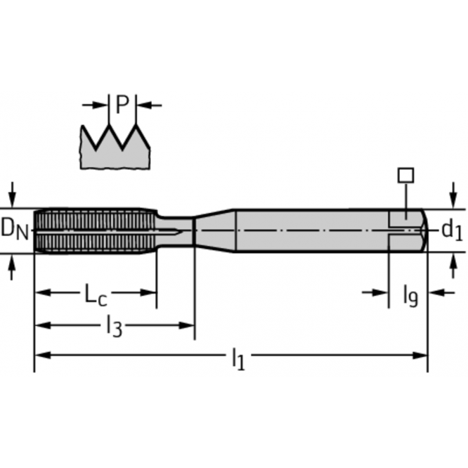 Tarozi de deformare din HSS-E-PM pentru maşini TC420-M10-EE-WW60AD