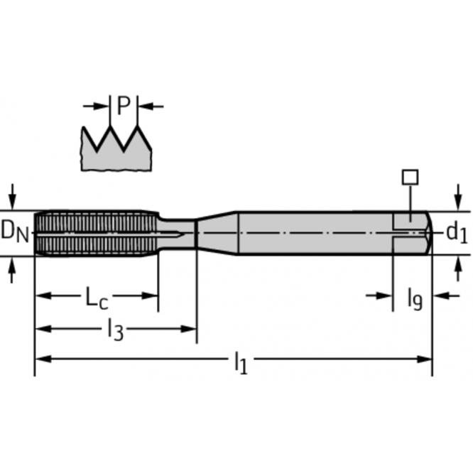 Tarozi de deformare din HSS-E-PM pentru maşini TC430-M5-C6-WW60EL