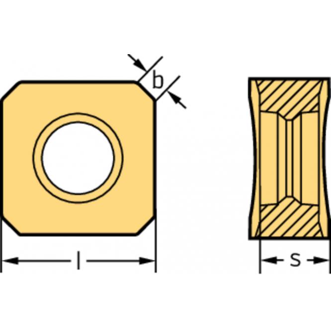 Pătrate negative SNMX0904ANN-F57 WKP35G