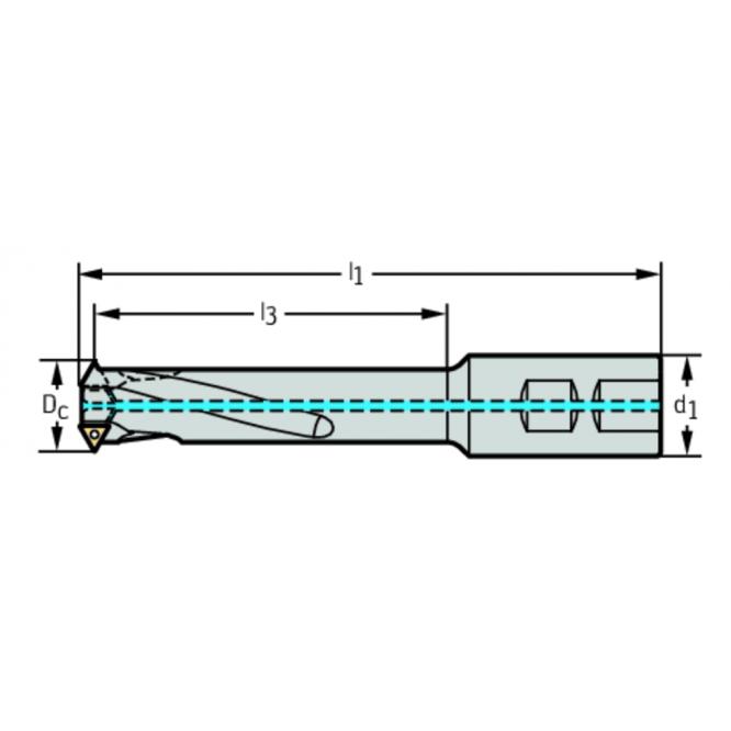 Freze de filetat cu plăcuţe amovibile T2713-35-W32-3-11