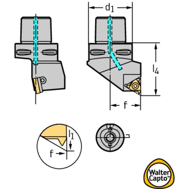 Suporţi pentru strunjire – filet exterior C...-NTS-SE C3-NTS-SEL22040-16